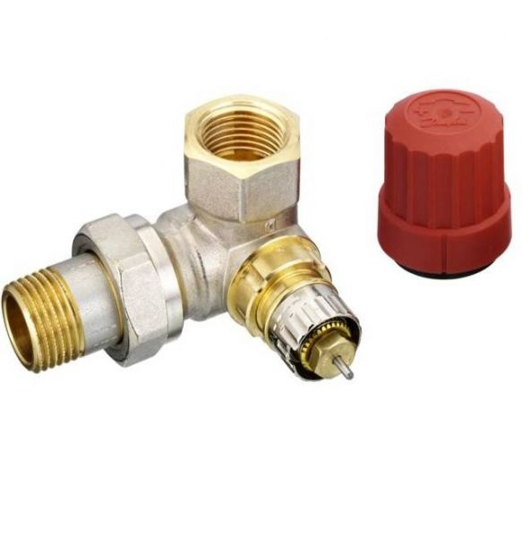 Thermostatventil Winkeleck links 1/2'' DANFOSS RA-N15 013G0234