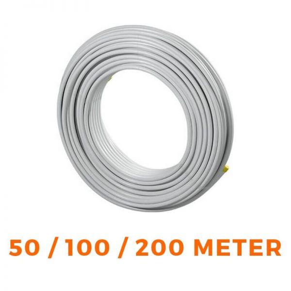 UPONOR Uni Pipe PLUS Alu Rohr Mehrschichtverbundrohr weiß - 100 / 200m