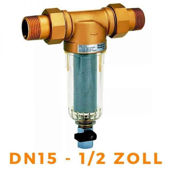 """Wasserfilter Feinfilter HONEYWELL FF06 MiniPlus - DN15, 1/2"""" FF06-1/2AA Resideo"""