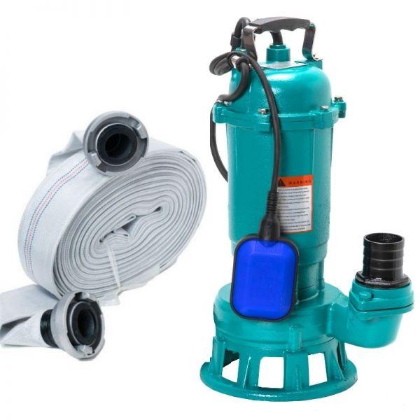 Schmutzwasserpumpe Fäkalienpumpe IBO FURIATKA 1500W 230V + 20m Schlauch