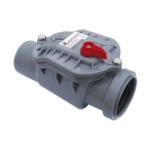 Rückstauverschluss CAPRICORN DN50 50mm selbstschließend Rückstauklappe Rattenschutz