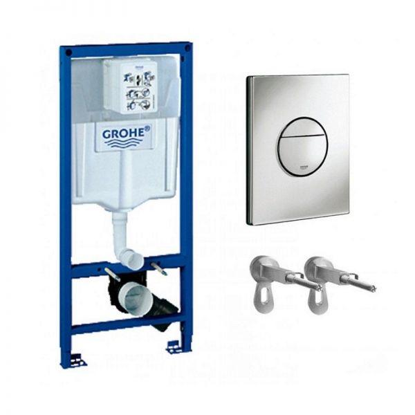 WC-Vorwandelemente GROHE Rapid SL set 3w1 - 38860000