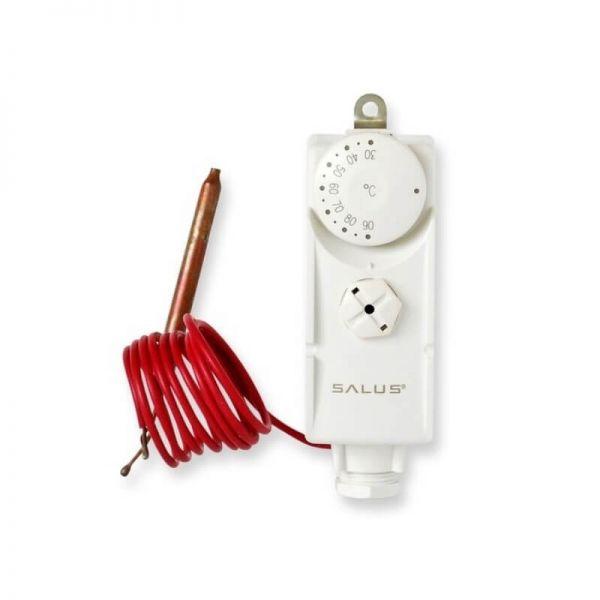 Rohranlegethermostat SALUS AT10F Anlegethermostat mit Fernfühler