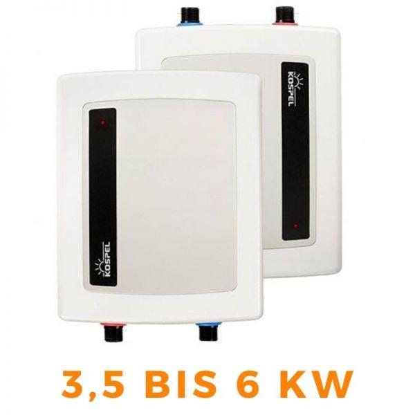 Kleindurchlauferhitzer Wassererhitzer KOSPEL AMICUS EPO2 - 3,5 bis 6kW
