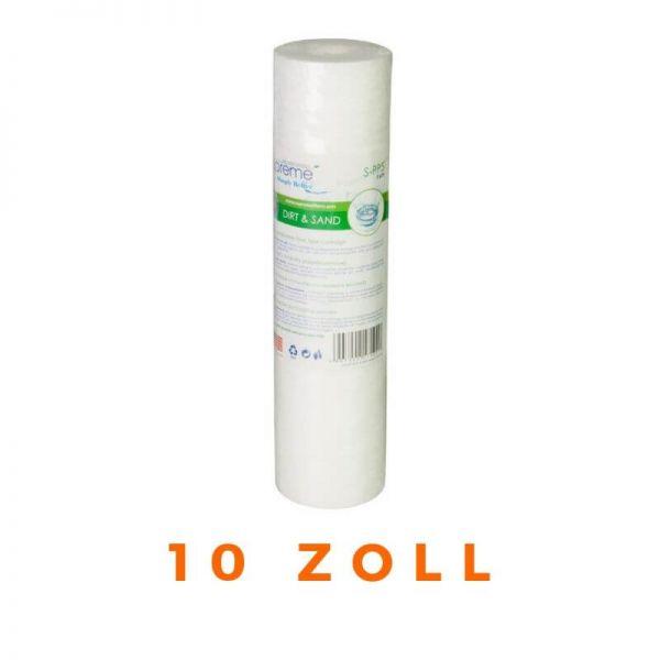 Filterkartusche Wasserfilter Polypropylenfilter AQUAFILTER 10 zoll - 5µ / 50µ | S-PP5