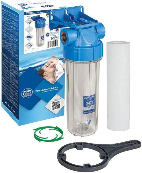 SET Wasser Filtration In-line AQUA FILTER 1 ZOLL Reinigen System Gehause Ganze Filter Set