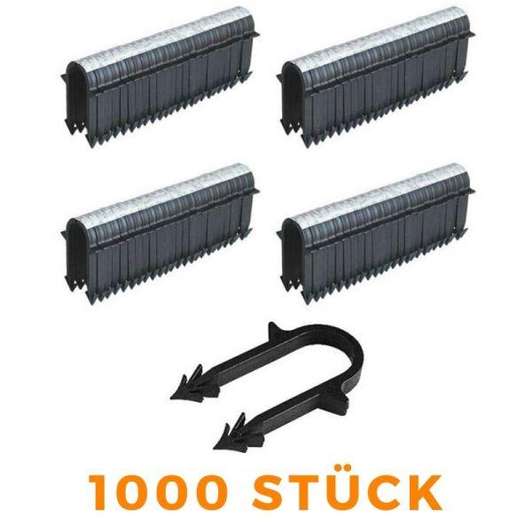 Tackernadeln Tacker 40mm für Fußbodenheizung Rohrhalter - 1000 Stück