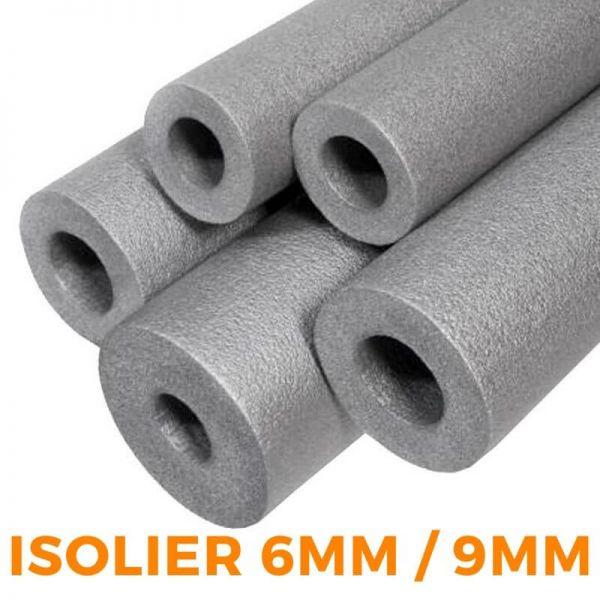 PE Rohrisolierung Isolierschlauch 2meter NMC Climaflex Classic - 6mm und 9mm