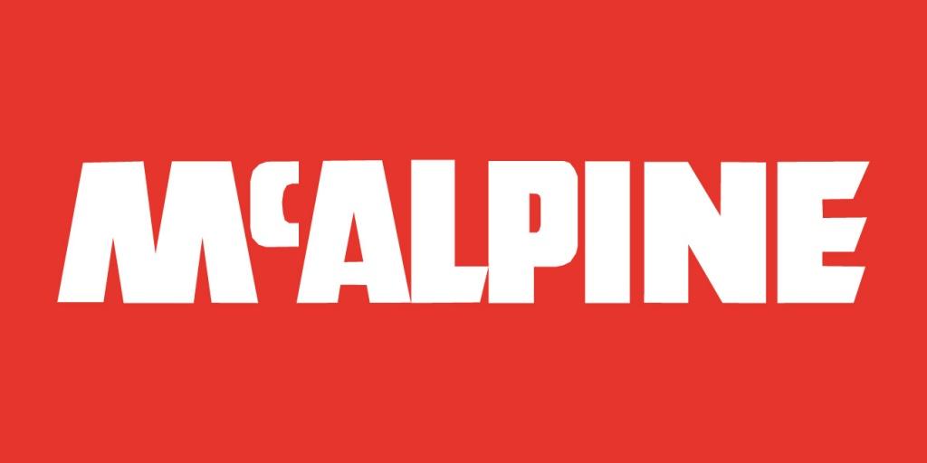 McALPINE Siphons