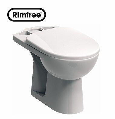 Kompakt-WC mit horizontalem Abfluss KOLO Nova Pro RIMFREE M33220