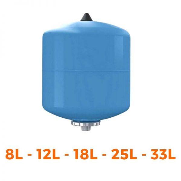 Membran-Ausdehnungsgefäß REFLEX Refix DE 8-12-18-25-33 Liter