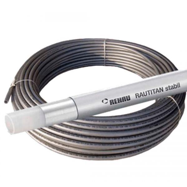 Rohr Alu Pex REHAU Stabil Rautitan für Wasser und Fußbodenheizung - 100m