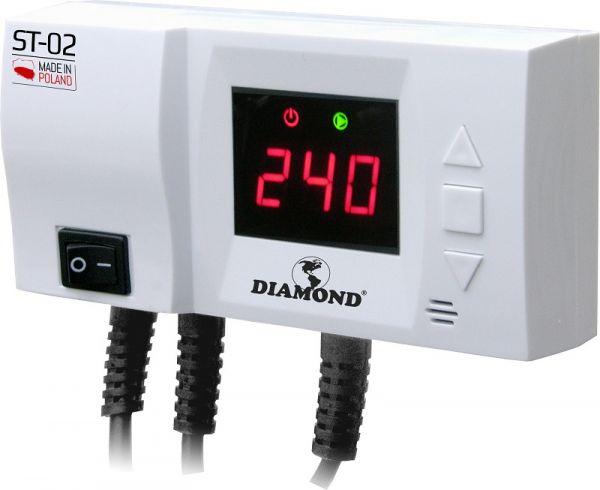 Steuerung Steuergerät für Zentralheizungspumpe ST-02 LED Heizungspumpe Umwälzpumpe Temperaturdiffere