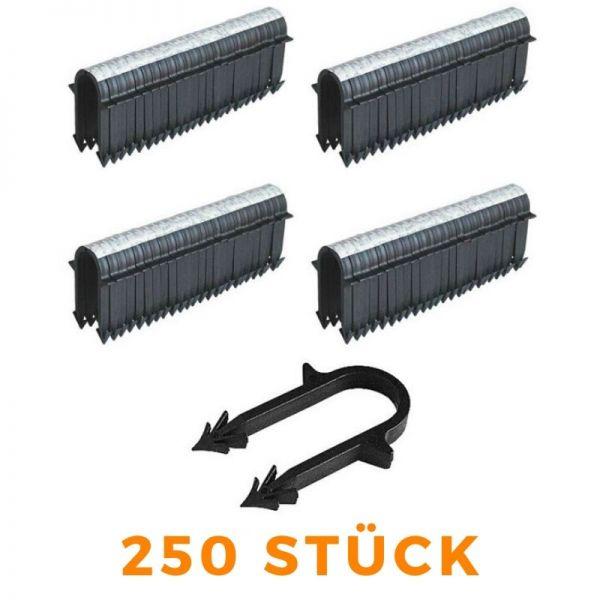 Tackernadeln Tacker 50mm für Fussbodenheizung Rohrhalter - 250 Stück