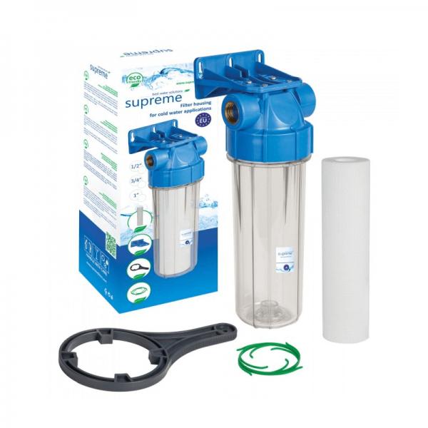 Wasserfilter Set 10 zoll SUPREME-H10B-S1 Komplettfilterset