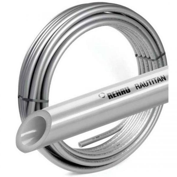 Rohr Pex REHAU Flex Rautitan für Wasser und Fußbodenheizung - 100m