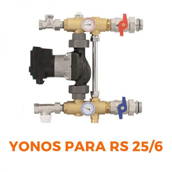 Pumpengruppe für Fußbodenheizung WILO Yonos PARA RS 25/6 RKA