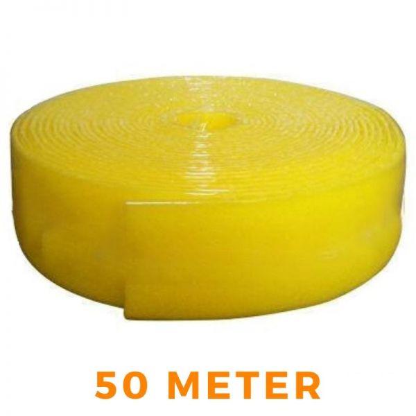 Randdämmstreifen Dilatation für Fußbodenheizung - gelb 150x8mm 50m