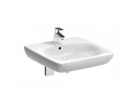Waschbecken KOLO Nova Pro für barrierefreies Bad mit Überlauf-System 65cm M38165