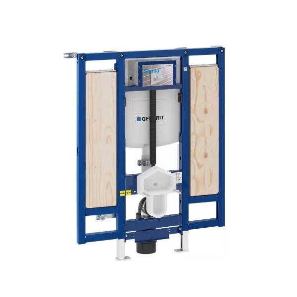 WC-Vorwandelemente barrierefrei WC höhenverstellbar für Stütz- und Haltegriffe GEBERIT Duofix Sigma