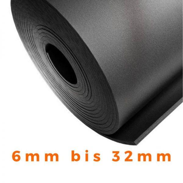 Isoliermatte Kautschuk Platten Dämmmatte nicht selbstklebend NMC Insul Roll