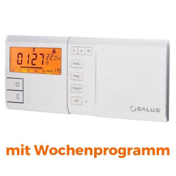 SALUS 091FL Elektronisches Raumthermostat mit Wochenprogramm