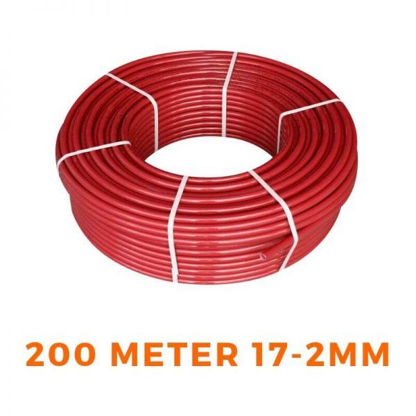 Heizrohr PE-RT Rohr für Fußbodenheizung 200M 17x2mm