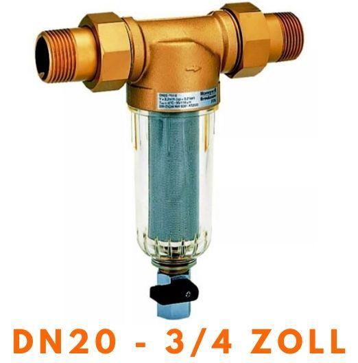 """Wasserfilter Feinfilter HONEYWELL FF06 MiniPlus - DN 20, 3/4"""" FF06-3/4AA Resideo"""